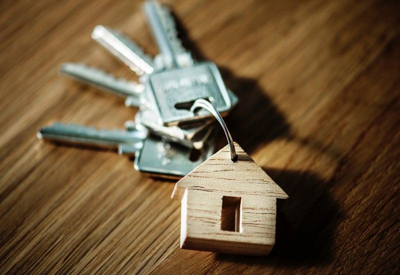 house keys and home