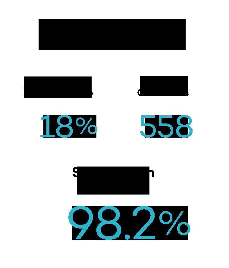 Support satisfaction score