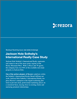 Jackson Hole SIR Case Study