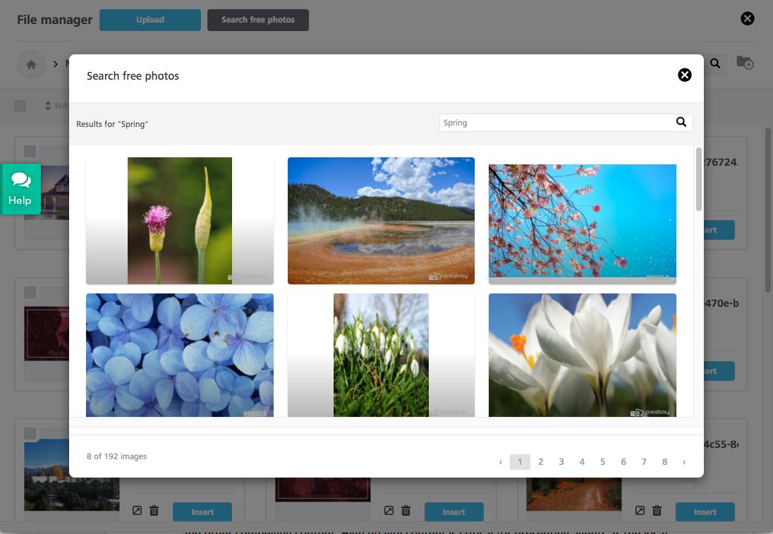 Free stock photo tool